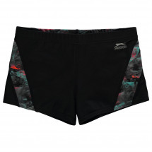 Slazenger - Curve Panel Boxer Swim Shorts Junior Boys